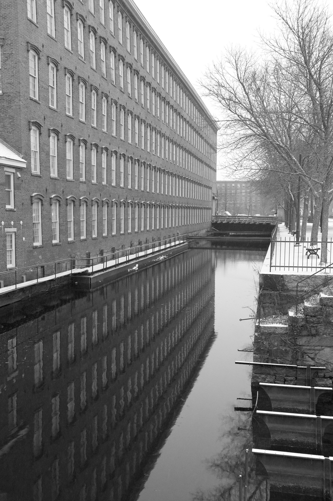 Reflections of Boott Mills