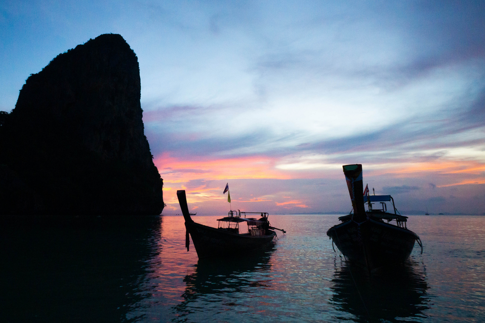 Railay Longboats